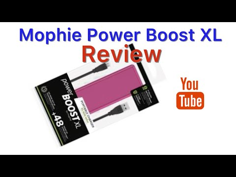 Mophie Power XL (PINK) Battery Bank REVIEW