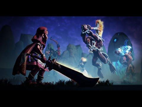 видео: arena of fate - Дебютный геймплей
