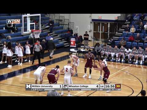 2017-01-18 Wheaton College Mens Basketball vs North Central College