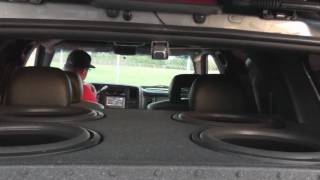 Dash Cracking Bass! HIGH DEF woofer excursion -