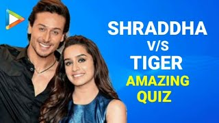 Quiz With BAAGHI Stars Tiger Shroff | Shraddha ...
