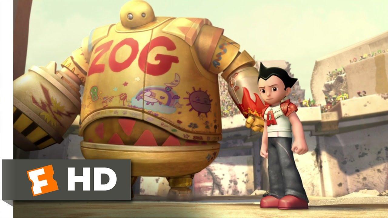 Download Astro Boy (8/10) Movie CLIP - I'm Old School (2009) HD