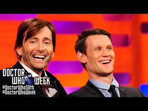 MATT SMITH & DAVID TENNANT Answer Whovian ' Questions  THE GRAHAM NORTON  on BBC America