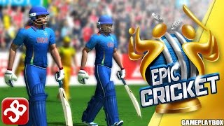Epic Cricket – Big League Game (By Moong Labs) - iOS/Android - Gameplay Video