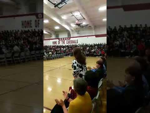 2017 Orosi High School Career Day: Mr. Vaca Addresses Students