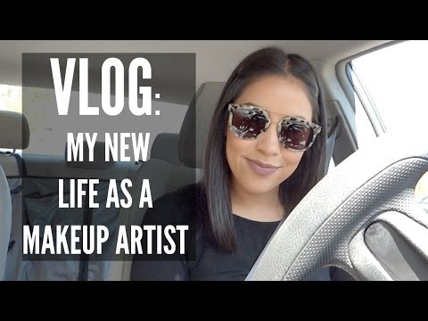 VLOG: MY NEW LIFE AS A MAKEUP ARTIST | Susie Morales