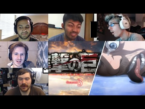 Attack On Titan :Shingeki No Kyojin Season 3 Episode 7 Reaction