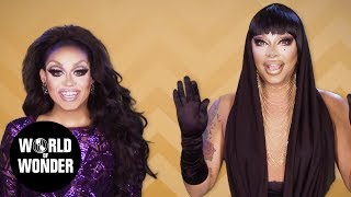 FASHION PHOTO RUVIEW: All Stars 3 Workroom Entrances with Raven & Mariah