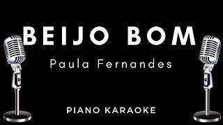 Beijo Bom - Paula Fernandes - Karaoke / Letras / Acordes / Piano Acústico Instrumental
