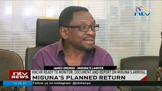 Miguna's planned return: KNCHR ready to monitor documents on Miguna's arrival