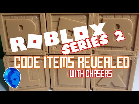 Roblox Toys Series 2 Code Items Revealed With Chasers Jazwares