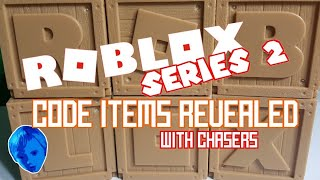 ROBLOX TOYS SERIES 2 CODE ITEMS REVEALED WITH CHASERS/ JAZWARES TOYS/ BEING LOGAN
