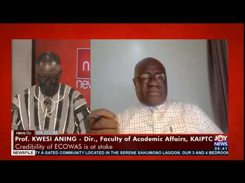 Guinea: ECOWAS has a role to play to ensure unconstitutional takeovers don't happen - Prof. Aning