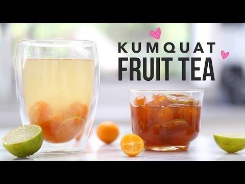 Kumquat Fruit Tea (Taiwanese Style Tea Shop Recipe)