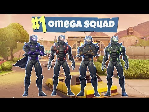 Full Maxed Omega Squad Team (Different Omega Colors)