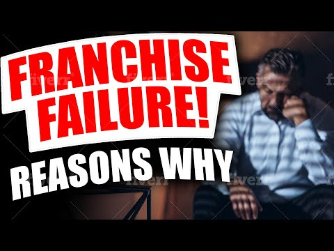 #1 Reason For Franchise Failures (And How To Avoid It!)
