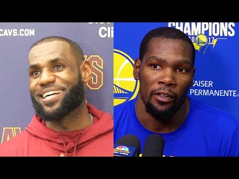 LeBron James and Kevin Durant Pick Their 2018 NBA All-Star Game Teammates