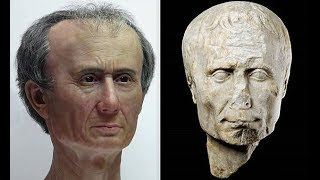 Julius Caesar had 'crazy bulge' on his head, 3D reconstruction reveals