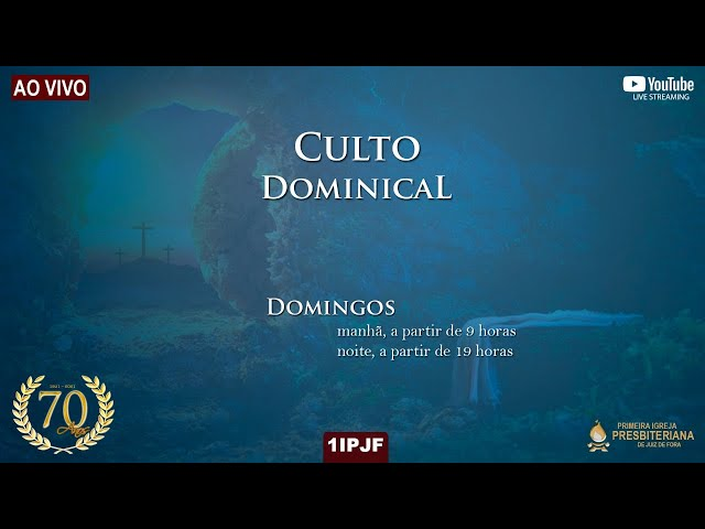 CULTO DOMINICAL - 18/04/2021 MANHÃ