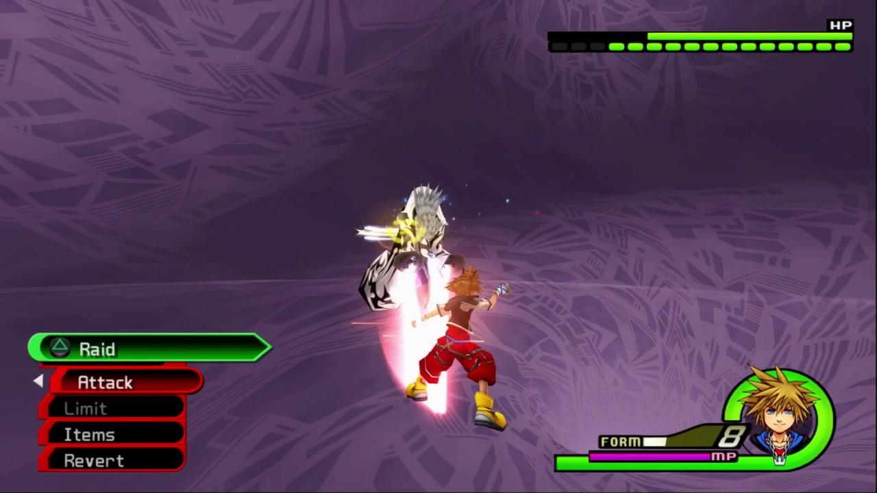 Kingdom Hearts II Final Mix [HD]: Limit form is SOOOOO BROKEN ...