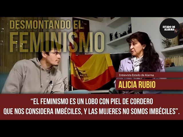 8M 😡 El FEMINISMO  considera a las mujeres idiotas.