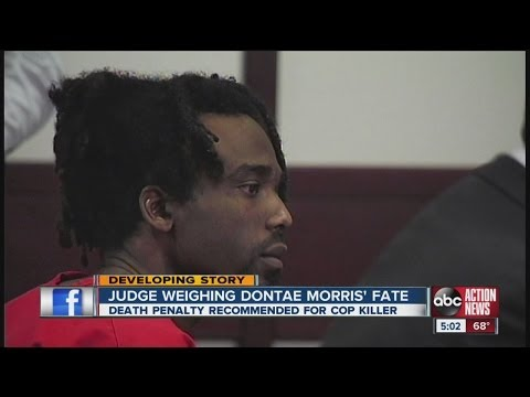 Judge weighs death penalty for Dontae Morris