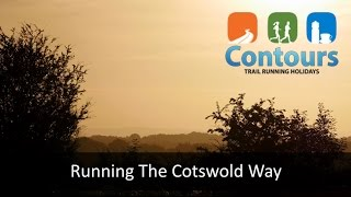 Running the Cotswold Way with Contours Trail Running Holidays