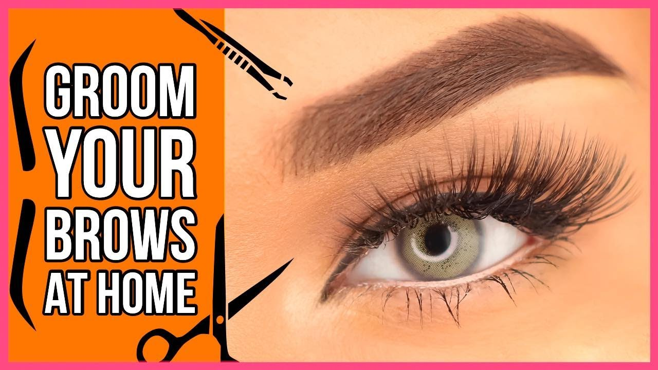 HOW TO: GROOM YOUR BROWS AT HOME | Raisa Naushin