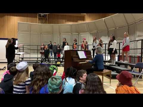 """Whisper"" White Hill MIddle School 6th grade Chorus"