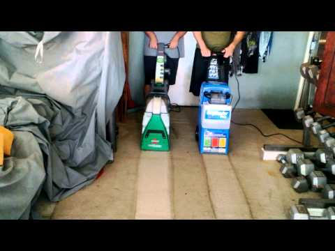 Rug Doctor vs. Bissell Big Green Deep Cleaning Machine