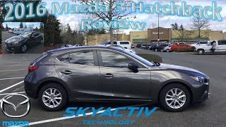 2016 Mazda 3 Hatchback | Test Drive & Review