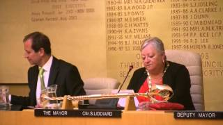 Ockendon councillor Sue Gray installed as mayor