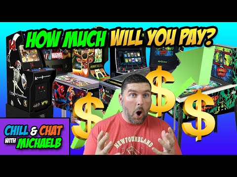 Arcade1UP, AtGames and Other Price Increases | MichaelBtheGameGenie from MichaelBtheGameGenie