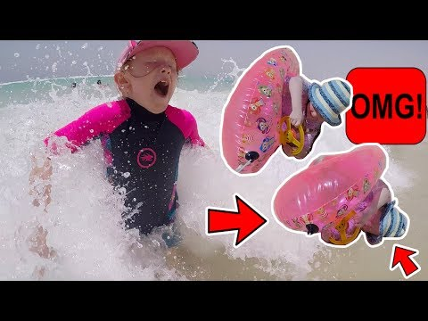 HILARIOUS SCARY BEACH INCIDENT!!