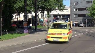 [Stinkefinger] RTW + NEF ASB Karlsruhe/Durlach [Full-LED] (HD)