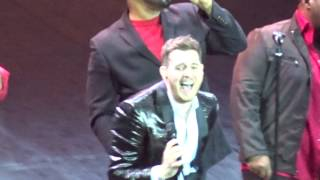 Michael Bublé and Naturally 7. Christmas (Baby Please Come Home) 16th December 2014, O2 Arena
