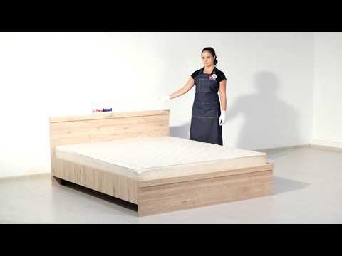 ВидеоОбзор EuroMebel: Кровать двуспальная 160 Оскар,  (Беларусь)