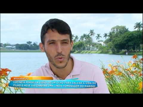 Rodrigo Faro Faz Surpresa Para Mãe Que Perdeu A Visão Ao Salvar O Filho