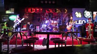 """""""Rock Music"""" Hot Tuna Bar 2 Walking Street Pattaya Thailand 2018-12-08"""