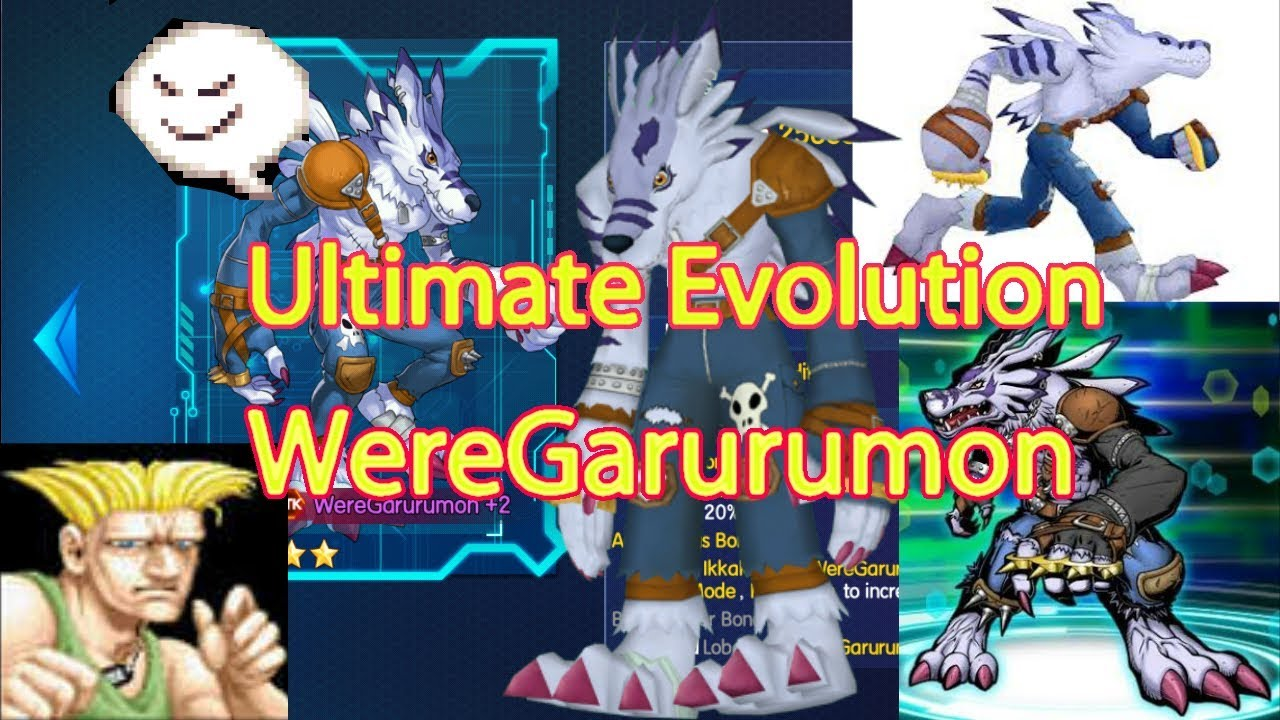 Digital World/Evolve Monster Digimon Ultimate Evolution ...