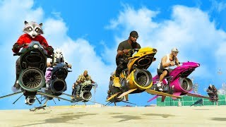 OPPRESSOR MK2 BIKER GANG VS MILITARY BASE! | GTA 5 THUG LIFE #180