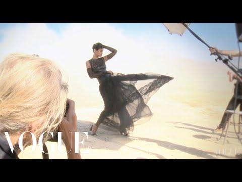 Rihanna's November 2012 Vogue Cover Shoot