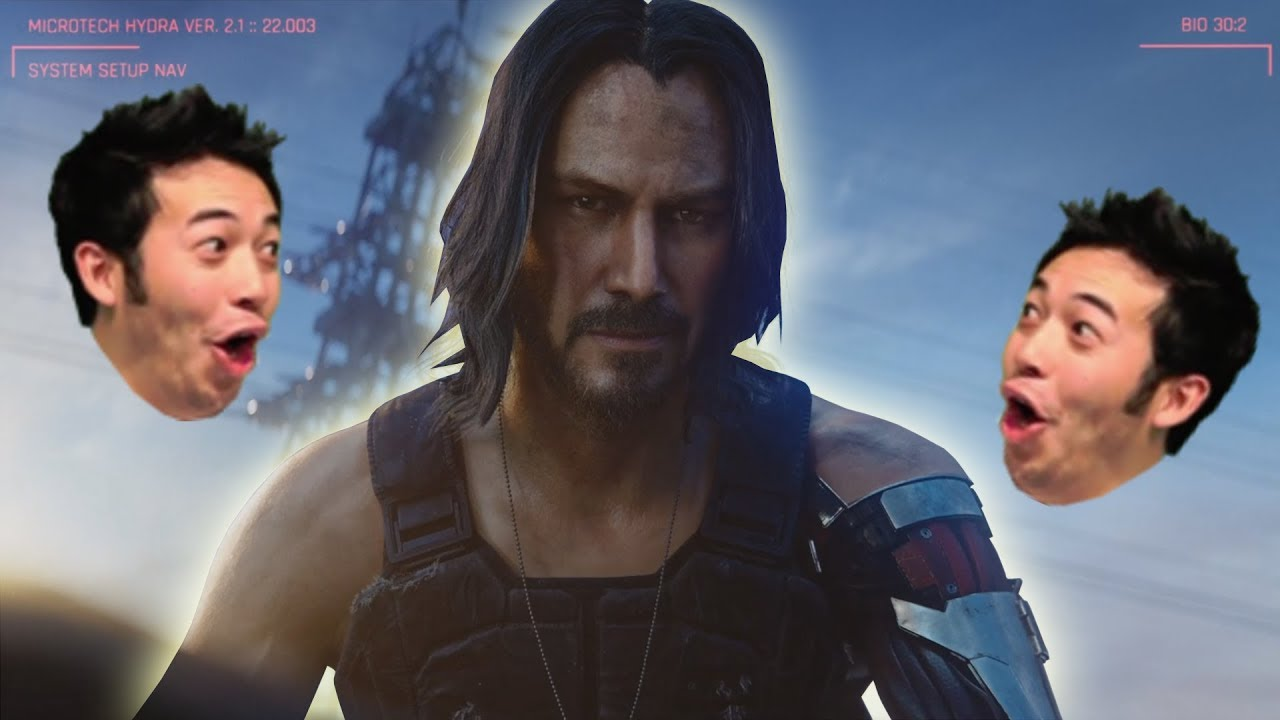 Twitch Chat Reaction to Keanu Reeves in Cyberpunk 2077 (Microsoft E3 2019)