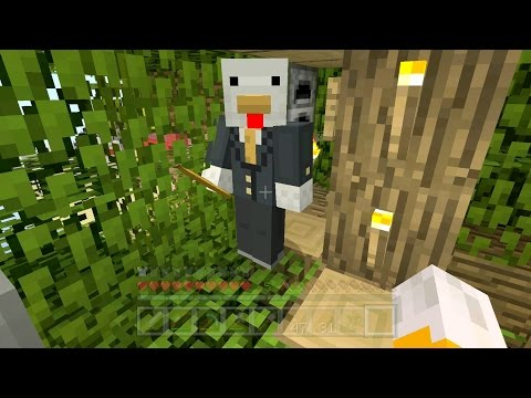 Minecraft Xbox - Sky Den - Tree Tower (51)