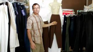 Designer Pants at Dream Adventures - Women's Clothing Intake Process