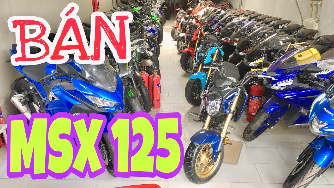 TụĐã Bán Rất Nhiều MSX 125 đã qua sử dụng số lượng lớn nhất Hà Nội , tại Tấn Đạt Motor 0934567836