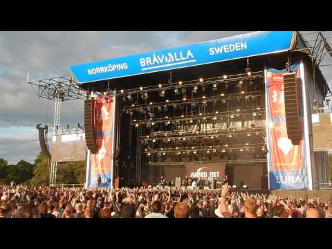 Raised Fist intro at Bråvalla Festival Norrköping Sweden 2017-07-01
