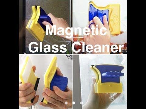 Magnetic Glass cleaner | DIY | Life Hacks