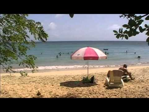 Plage des Salines à Sainte Anne en Martinique