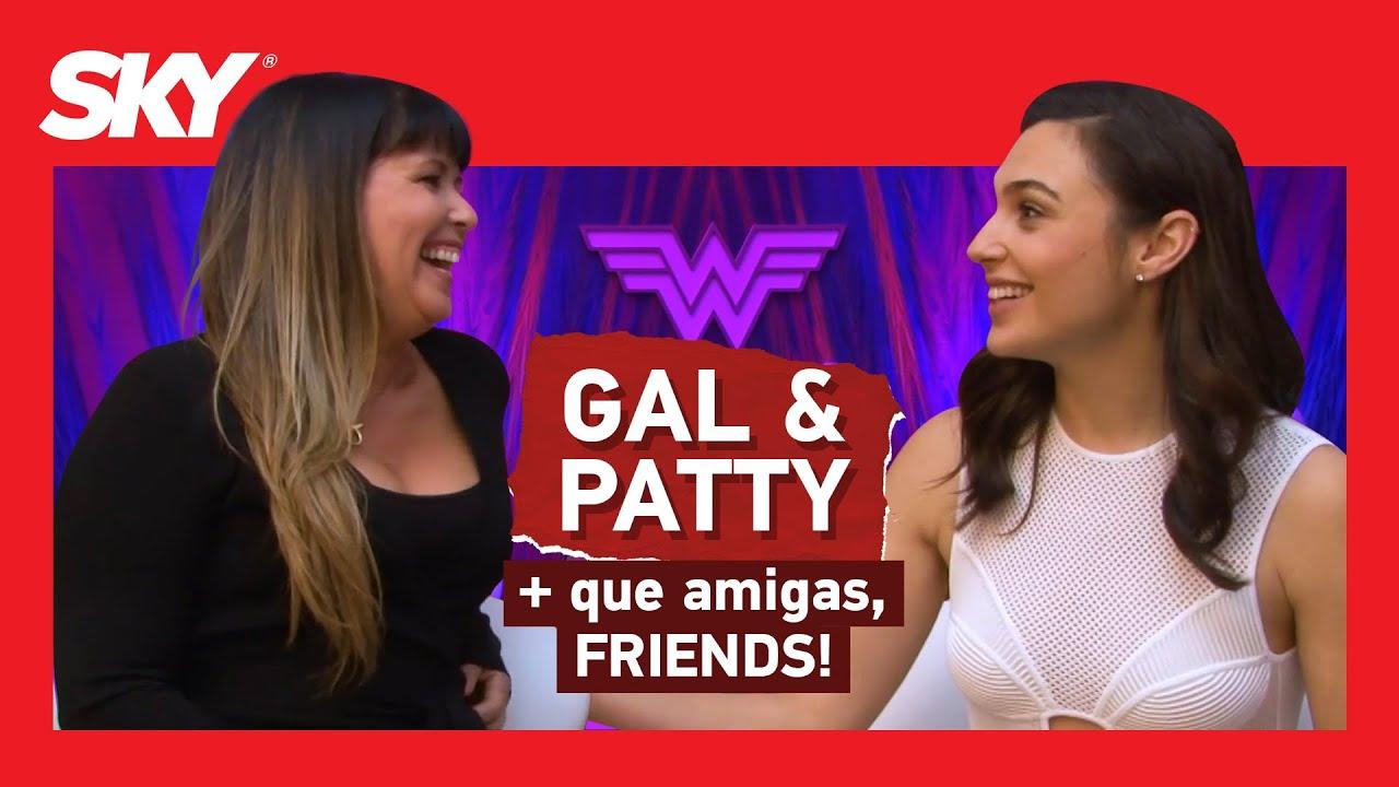 Mulher Maravilha 1984: Entrevista Gal Gadot e Patty Jenkins   SKY Entrevista